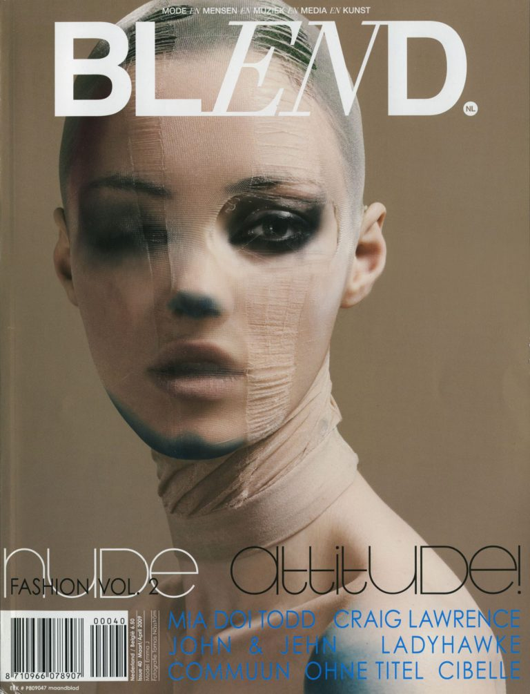 BLEND magazine 2008/2009 art direction
