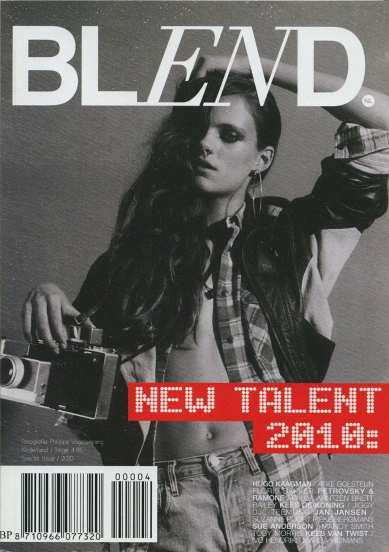 BLEND new talent magazine; 2009 en 2010 ontwerp en art direction