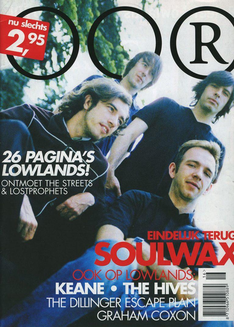 art direction OOR magazine, 2003/2004