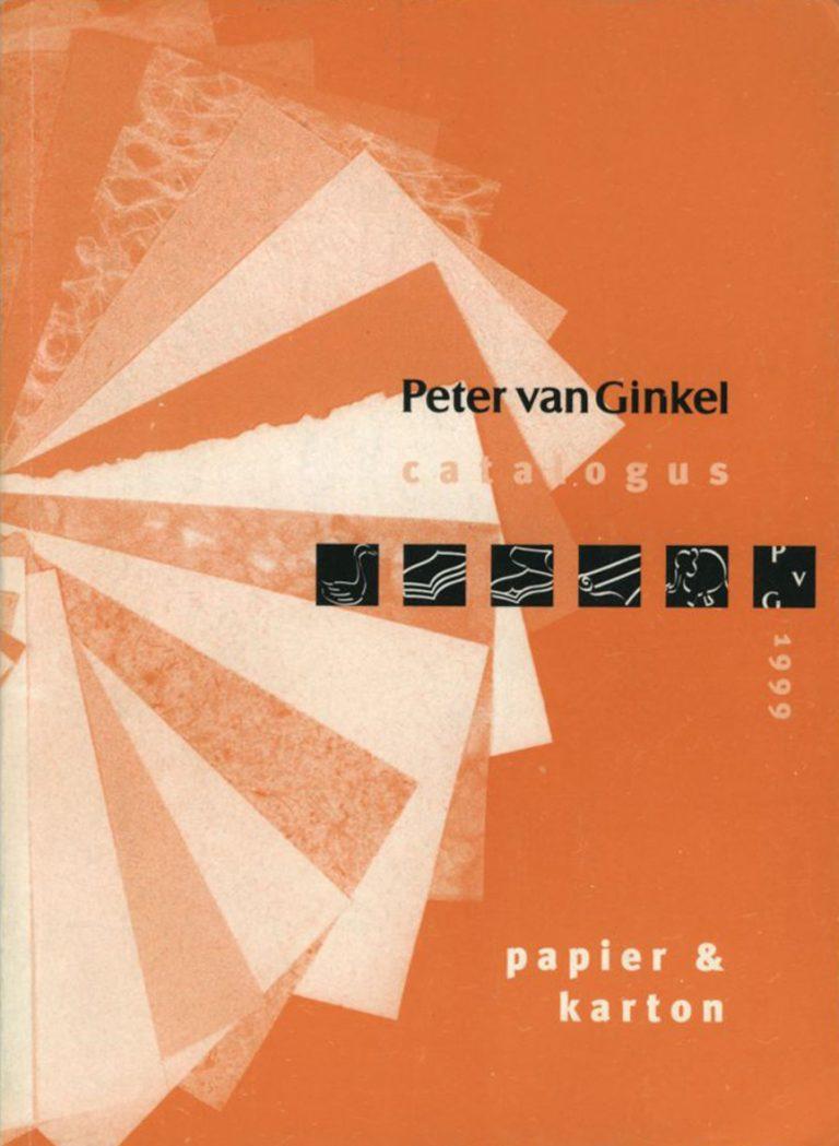 diverse catalogie Peter van Ginkel; 1999, 2002 en 2004 ontwerp en illustratie's