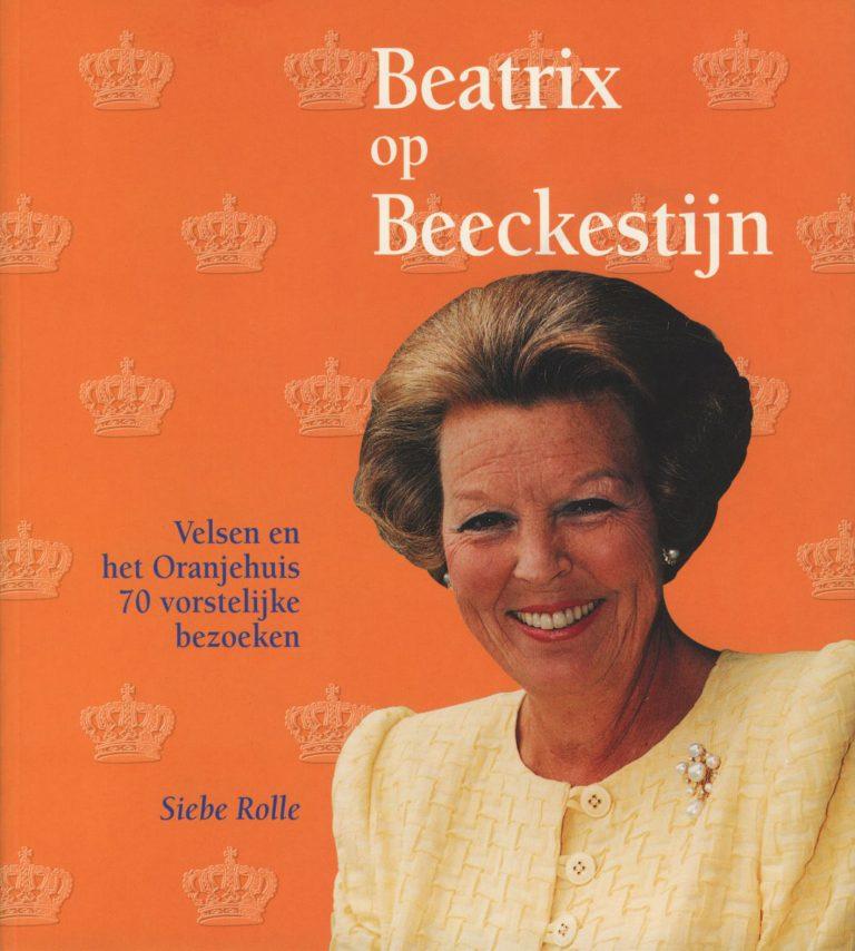 ontwerp, illustratie en uitvoering boekje Beatrix op Beeckestijn