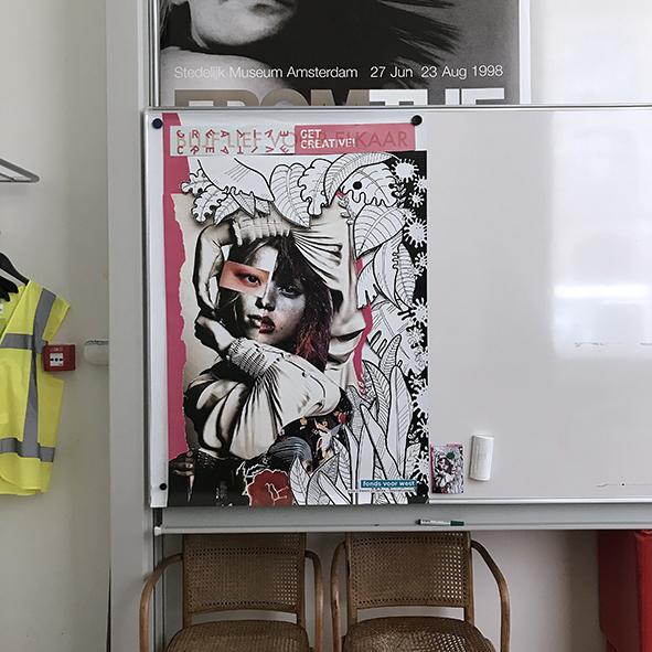 Stedelijk, personeelsruimte > Amsterdam